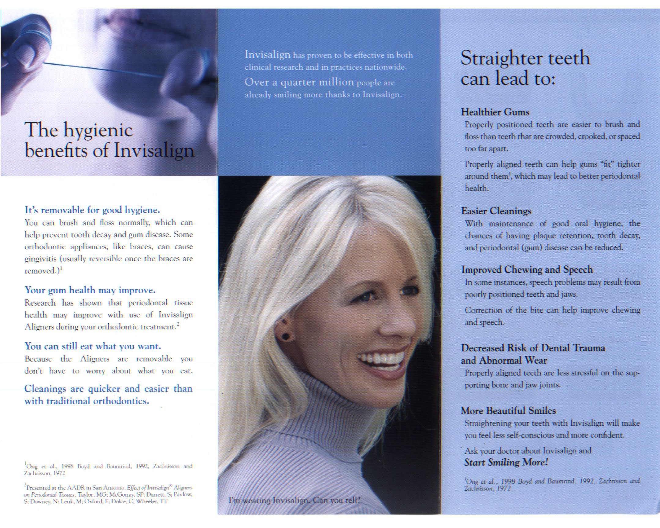 Invisalign Brochure 2